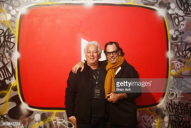 Aby Rosen Sante D'Orazio attend YouTube brings the BOOM BAP BACK to New York City With Lyor Cohen Nas Grandmaster Flash QTip Chuck D and Fab 5 Freddy...