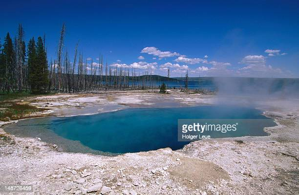 Abyss Pool thermal pool, West Thumb Geyser Basin.