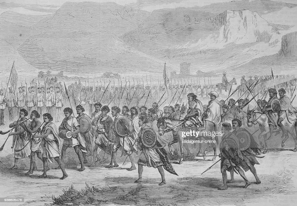 Abyssinian expedition of 1868 ...