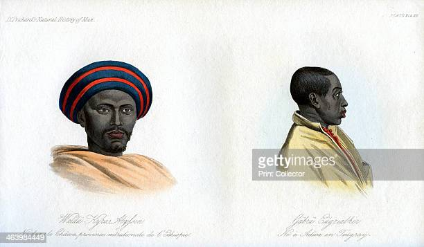 Abyssinian portraits 1848 Walda Kyros born in the south of Ethiopia and a native of Shoa and Gabra Eugziabher a native of Adowa in Tigray northern...