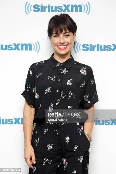 Ac Constance Zimmer tressvisits SiriusXM Studios on July 19 2018 in New York City