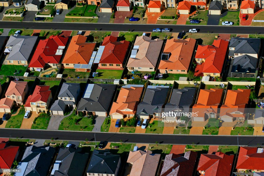 Acacia Gardens, North-West Sydney, Aerial Photography : Stock Photo