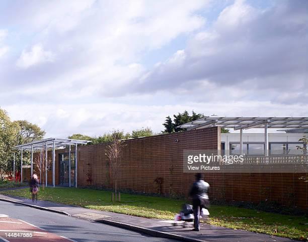 Acacia Intergenerational Activity Centre Grove Road LondonUnited Kingdom Architect C U R L L A T O U R E L L E A R C H I T E C T S Street Side...