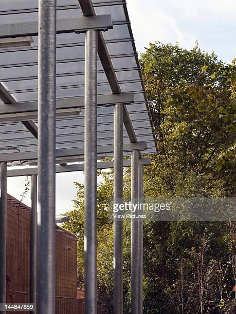 Acacia Intergenerational Activity Centre Grove Road LondonUnited Kingdom Architect C U R L L A T O U R E L L E A R C H I T E C T S Detail Of Entrance...