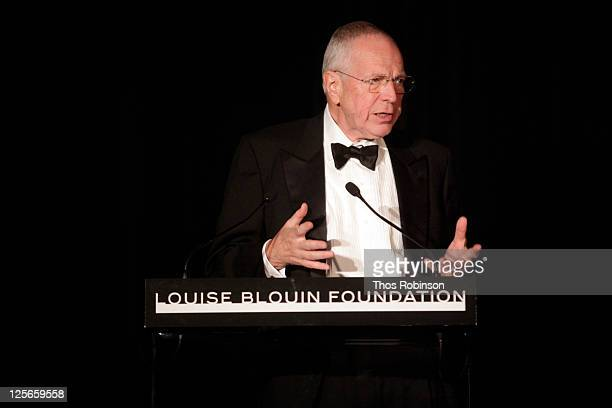 Academic and award recipient Sir Edmund Phelps attends The Louise Blouin Foundation Presents The Fifth Annual Blouin Creative Leadership Summit -...