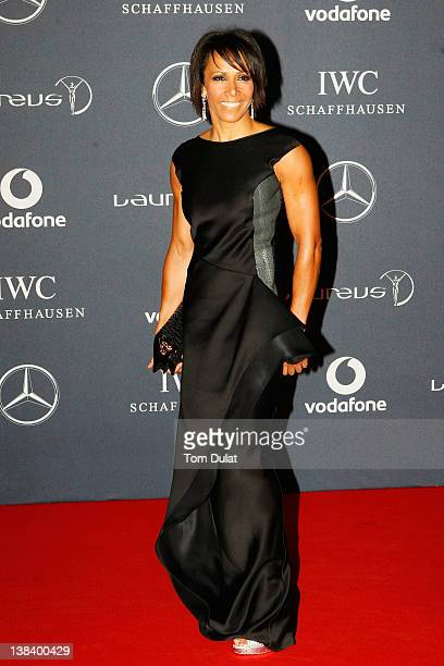 Academy Ambassador Dame Kelly Holmes attends the 2012 Laureus World Sports Awards at Central Hall Westminster on February 6 2012 in London England