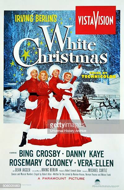 Academy Award for Best Original Song in 1942 for the film White Christmas The title song is sung by Bing Crosby Danny Kaye and Rosemary Clooney