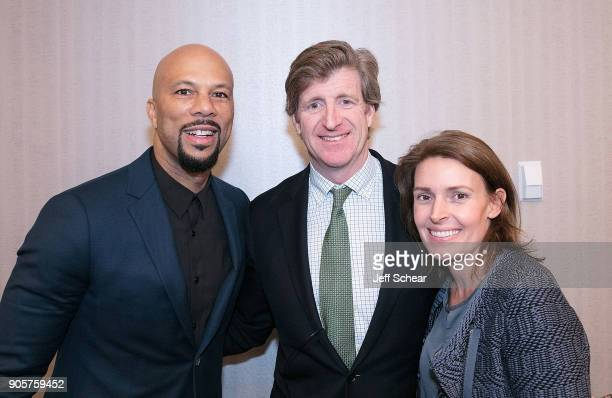 Academy Award Golden Globe Emmy and Grammywinning Actor and Musician Common Former US Representative and Founder of The Kennedy Forum Patrick J...