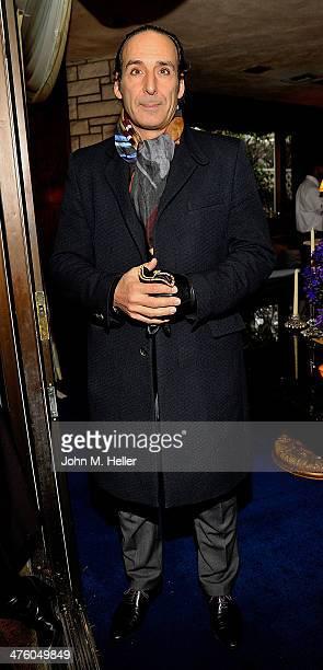 Academy Award Nominee for Achievement In MusicOriginal Score Alexandre Desplat attends the SCL PreOscar Reception Honoring Academy Awards Music...