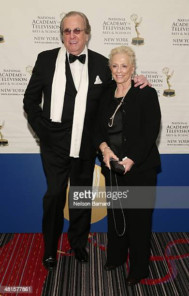 "Academy Award nominee for ""Do the Right Thing"" actor singer Danny Aiello and his wife Sandy Cohen arrive at the 57th Annual New York Emmy awards at..."