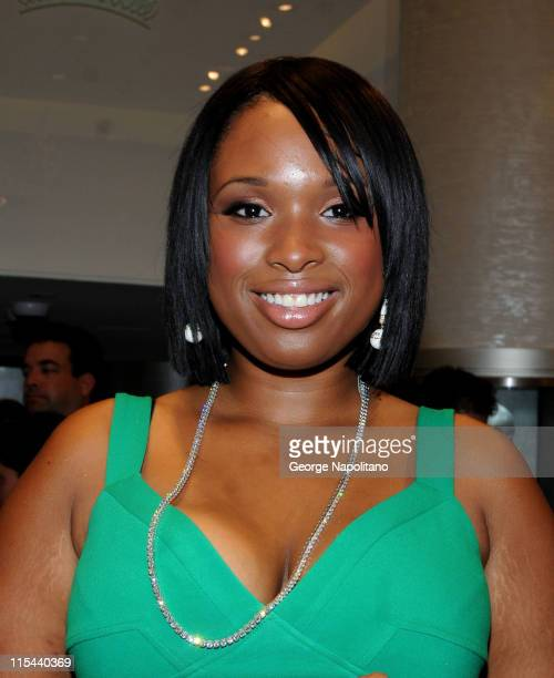 Academy Award winner and singer Jennifer Hudson at the grand opening of the Kwiat flagship boutique on Madison Avenue in New York City on September 3...