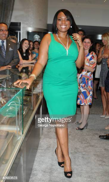 Academy Award winner and singer Jennifer Hudson attends the grand opening of the Kwiat flagship boutique on Madison Avenue in New York City on...