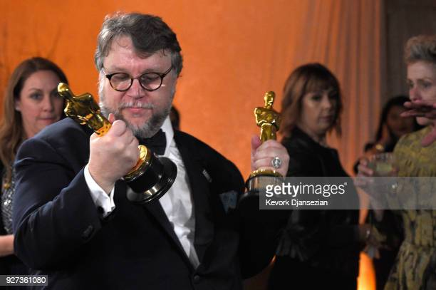 Academy Award Winner for Best Picture and Best Original Screenplay for 'The Shape of Water Guillermo Del Toro attends the 90th Annual Academy Awards...