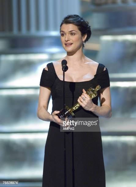 Academy Award winner for Best Supporting Actress Rachel Weisz during the 78th Annual Academy Awards at the Kodak Theatre in Hollywood CA on Sunday...