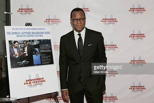 Academy Award winner Geoffrey Fletcher attends the LA Premiere of Bombay Sapphire Imagination Series Film during the 4th Annual Downtown Film...