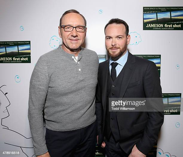 Academy Award winner Kevin Spacey and President of Trigger Street Productions Dana Brunetti celebrated the Jameson First Shot short film competition...