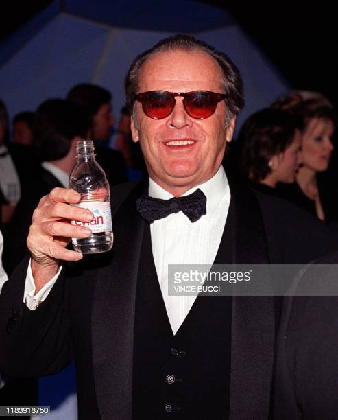 Academy Award winning actor Jack Nicholson attends a party prior to the 9th Annual Fire and Ice Ball 09 December at Universal Studios in Los Angeles...