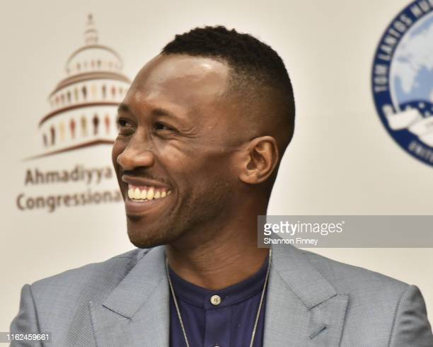 Academy Award winning actor Mahershala Ali participates in a Conversation with U.S. Lawmakers About Religious Persecution on Capitol Hill hosted by...