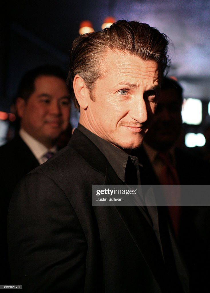 Academy award winning actor Sean Penn arrives at a press conference announcing legislation to create a Harvey Milk Day in California March 3, 2009 in San Francisco, California. Actor Sean Penn and California State Sen. Mark Leno (D-San Francisco) announced legislation that will be introduced to create a Harvey Milk Day in California to recognize the efforts of the slain gay rights activist.