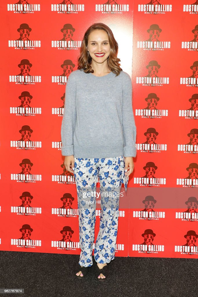 Academy Award winning actress Natalie Portman attends Day 2 of 2018 Boston Calling Music Festival at Harvard Athletic Complex on May 26, 2018 in Boston, Massachusetts. She curated and presented the festival's film component along with a lineup of special programming with select artists.