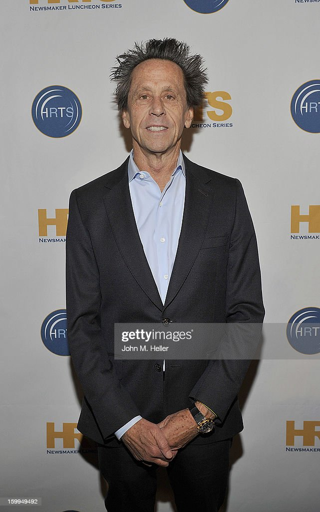 Academy Award Winning Producer and Co-Chairman of Imagine Entertainment Brian Grazer attends the Hollywood Radio & Television Society Newsmaker Luncheon Series at The Beverly Hilton Hotel on January 23, 2013 in Beverly Hills, California.