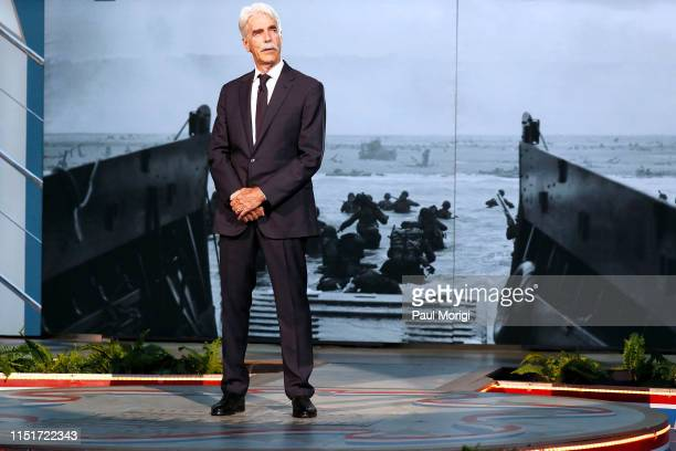 Academy Award-nominated actor Sam Elliott onstage at the 2019 National Memorial Day Concert - Rehearsals at U.S. Capitol, West Lawn on May 25, 2019...