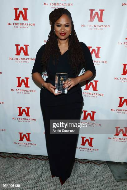 Academy AwardNominated Director and WOV Honoree Ava DuVernay attends the Ms Foundation 30th Annual Gloria Awards at Capitale on May 3 2018 in New...