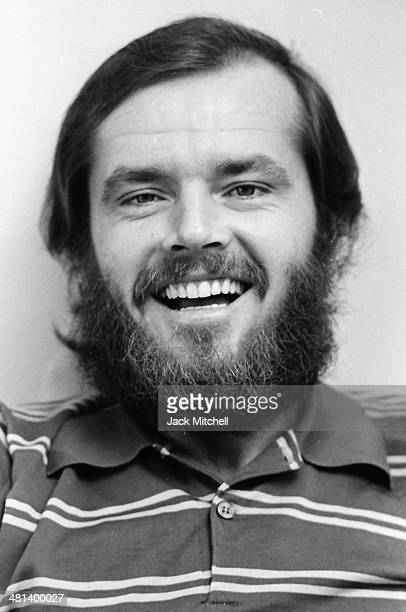 Academy Award-winning actor Jack Nicholson photographed in New York City in 1969, the year he starred in 'Easy Rider'.