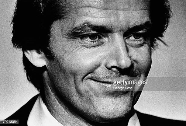 Academy Awardwinning actor Jack Nicholson poses backstage at the 1979 Los Angeles California Academy Awards presentation Nicholson has starred in...