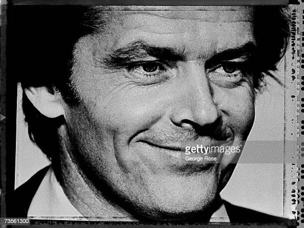 Academy Awardwinning actor Jack Nicholson poses backstage at the 1979 Los Angeles California Academy Awards presentation Nicholson has starred in...