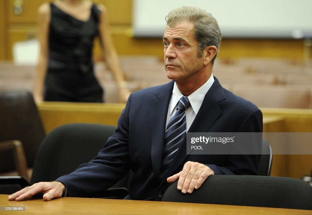 Academy Award-winning actor/director Mel Gibson appears in Los Angeles Superior Court August 31, 2011 in downtown Los Angeles to finalize a civil financial settlement with former girlfriend Oksana Grigorieva. Under the settlement Gibson will pay Grigorieva, the mother of his 22-month-old daughter, USD $750,000 in three installments, the last by January 2016.