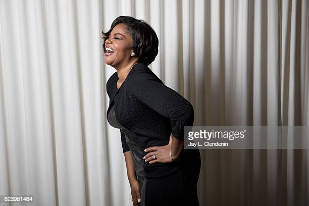 Academy Awardwinning actress and comedian Mo'Nique is photographed for Los Angeles Times on November 2 2016 in Los Angeles California PUBLISHED IMAGE...