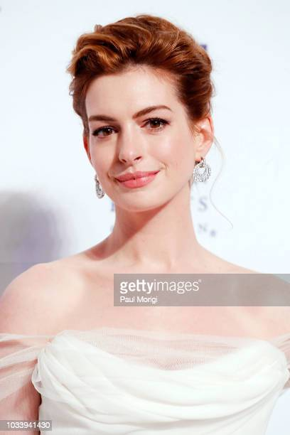 Academy Award-winning actress Anne Hathaway is honored at the 22nd annual Human Rights Campaign National Dinner at the Walter E. Washington...