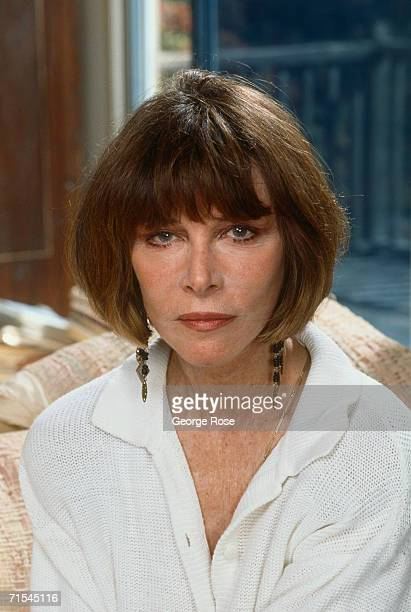 Academy Awardwinning actress Lee Grant poses during a 1989 Los Angeles California photo portrait session Grant who also starred on Broadway and...