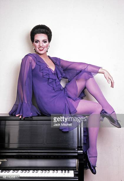 Academy Awardwinning actress singer and dancer Liza Minnelli photographed in New York City in 1980