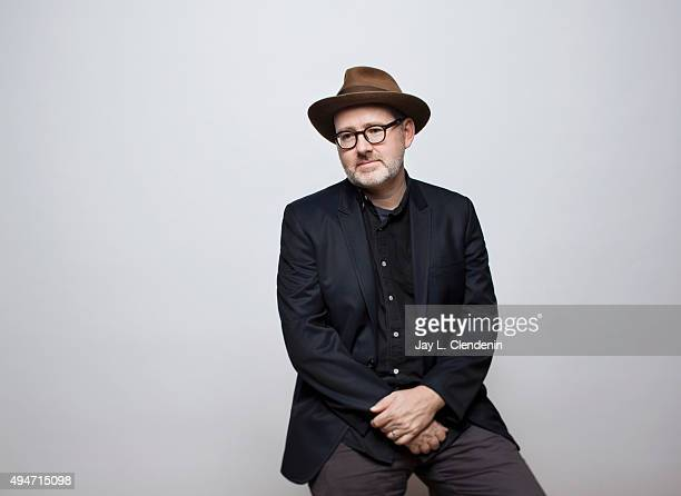 Academy Awardwinning director Morgan Neville with the documentaries The Music of Strangers is photographed for Los Angeles Times on September 25 2015...