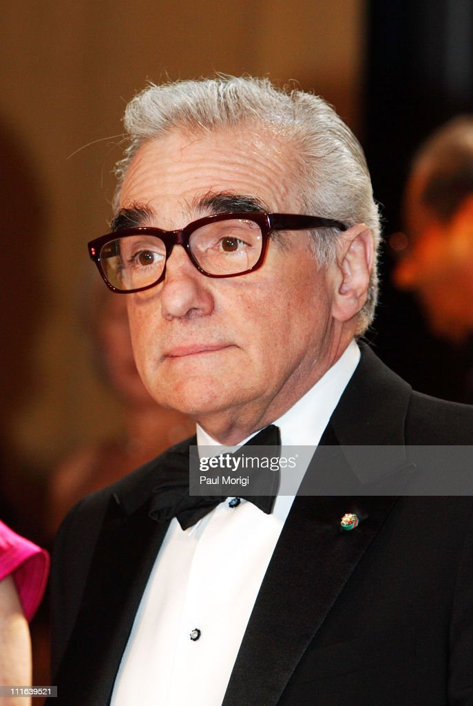 Academy award-winning filmmaker Martin Scorsese attends the National Italian American Foundation gala dinner at the Hilton Washington & Towers on October 13, 2007, in Washington, DC.