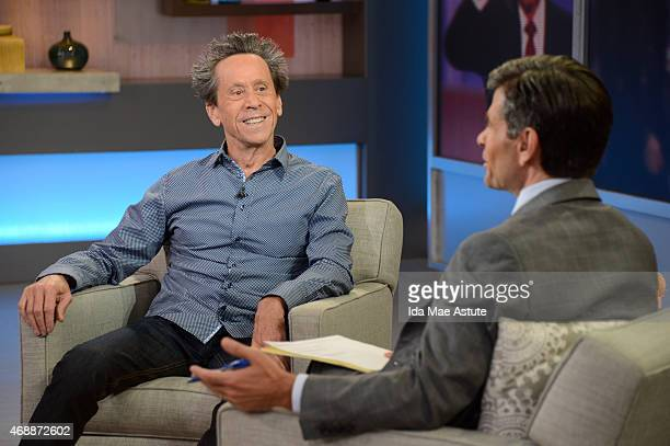 AMERICA Academy Awardwinning producer Brian Grazer talks about his success and his book 'The Secret to Curiousity' on GOOD MORNING AMERICA 4/7/15...