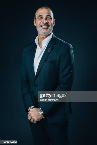 Academy Member Ruud Gullit poses prior to the 2020 Laureus World Sports Awards on February 17, 2020 in Berlin, Germany.