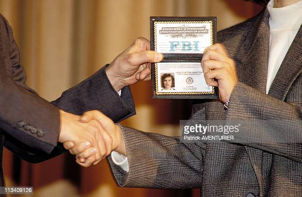 Academy Of FBI On December 1St 1989 In Quantico United States New Agents SwearingIn