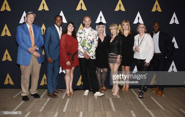 Academy of Motion Picture Arts and Sciences president John Bailey actors Clayton Prince and Ricki Lake director John Waters actors Debbie Harry Pia...