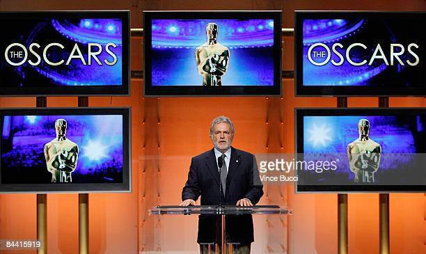 Academy of Motion Picture Arts and Sciences President Sid Ganis announces the nominations for the 81st Academy Awards held at the Samuel Goldwyn...