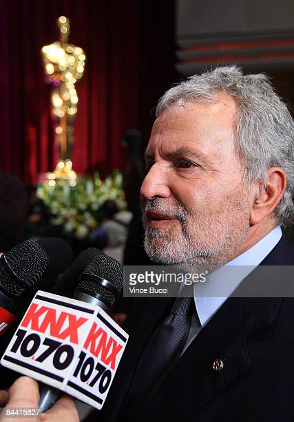 Academy of Motion Picture Arts and Sciences President Sid Ganis speaks with the media after announcements of the nominations for the 81st Academy...
