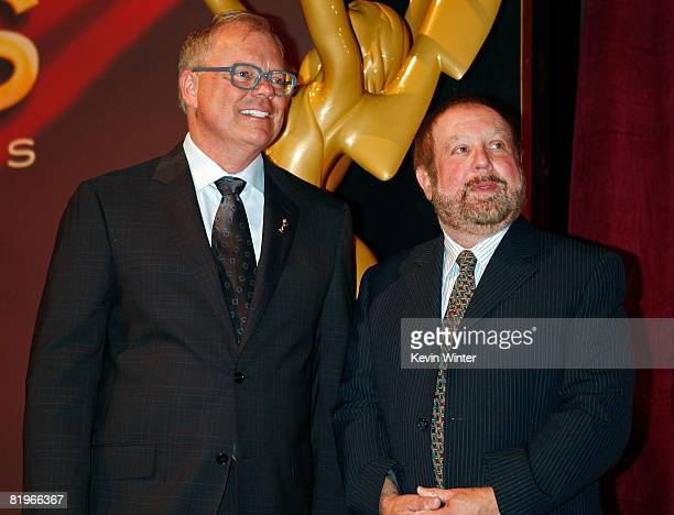 Academy Of Television Arts And Sciences Chairman CEO John Schaffner Executive Producer Ken Ehrlich