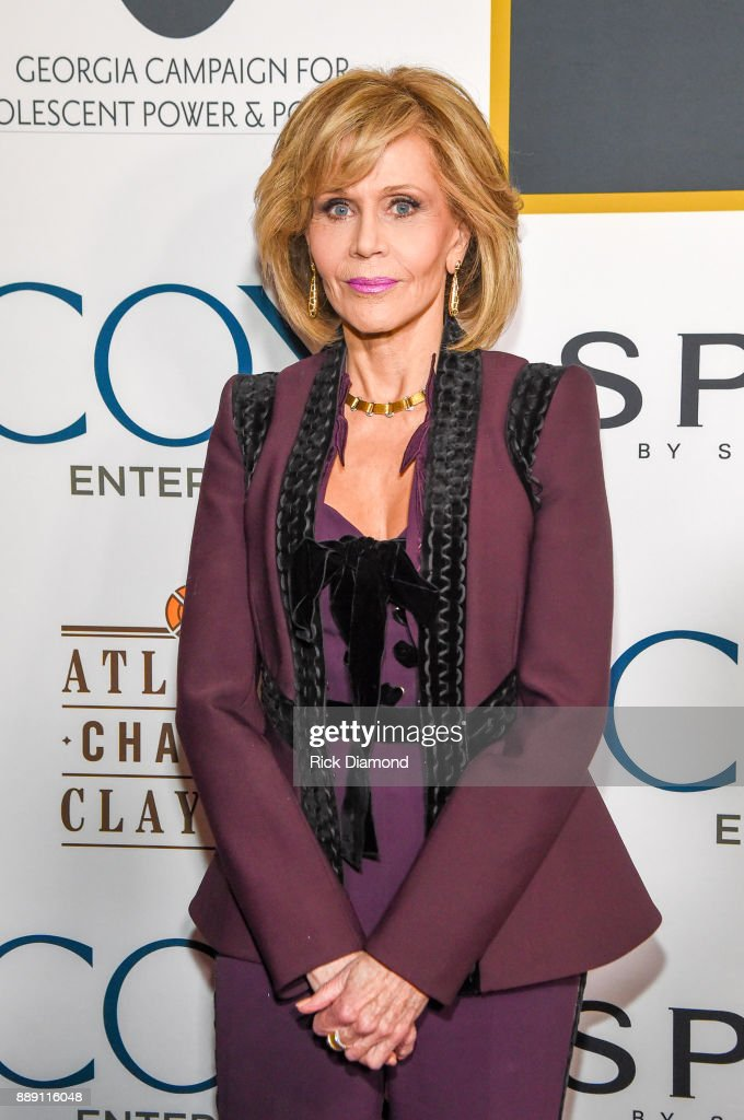 Academy-Award Winning Actress Jane Fonda attends GCAPP 'Eight Decades of Jane' in Celebration of Jane Fonda's 80th Birthday at The Whitley on December 9, 2017 in Atlanta, Georgia.