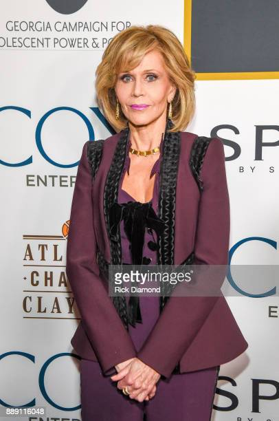 AcademyAward Winning Actress Jane Fonda attends GCAPP Eight Decades of Jane in Celebration of Jane Fonda's 80th Birthday at The Whitley on December 9...