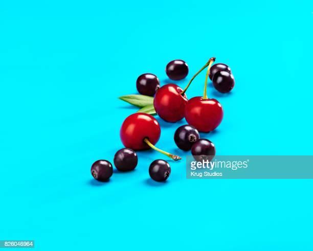 Acai Berries and Cherries
