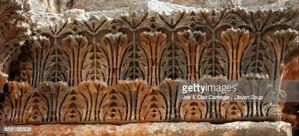 Acanthus Leaf Cornice detail, Church of Saint Simeon, Syria