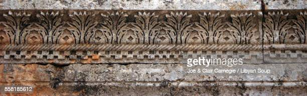 Acanthus leaf motif, St. Simeon's Church, Syria.