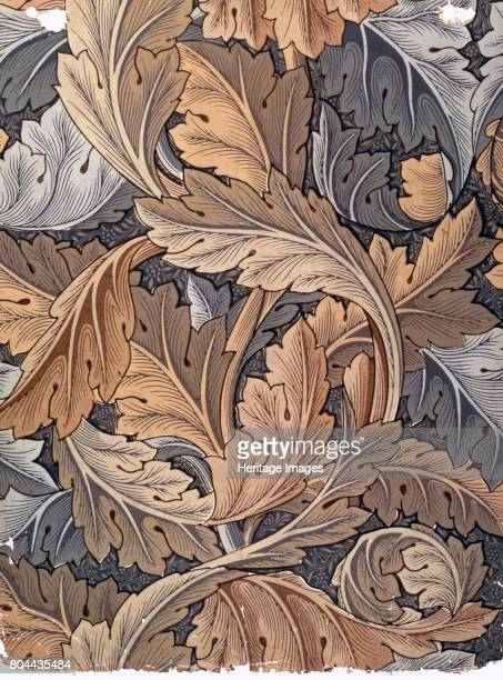Acanthus' wallpaper designed by William Morris 1875